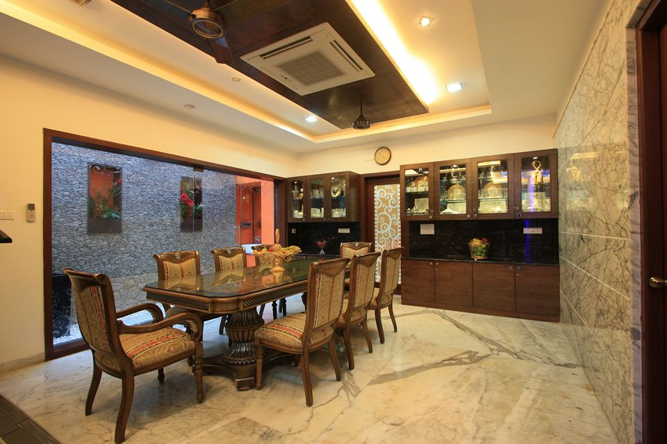 Ansari architects interior designers chennai for Simple dining hall design