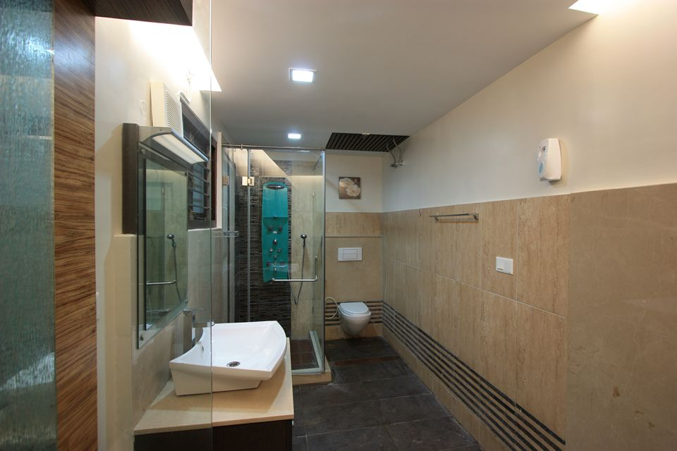 Ansari architects interior designers chennai for Bathroom interior design chennai