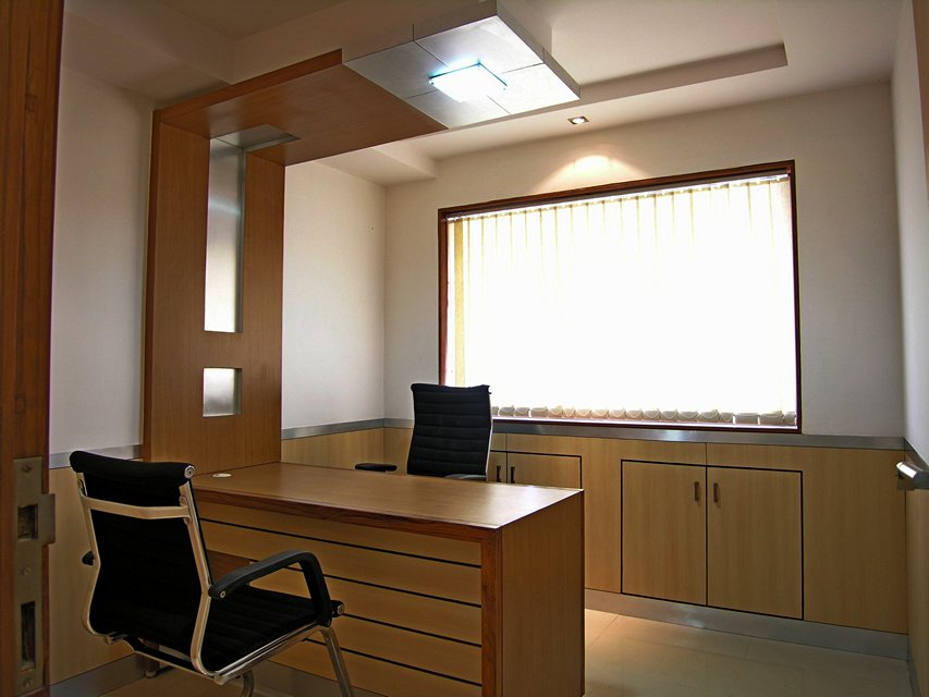 Ansari architects interior designers chennai for Office cabin interior