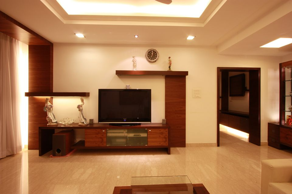 House in 14th floor ansari architects chennai for Wall unit designs living room india