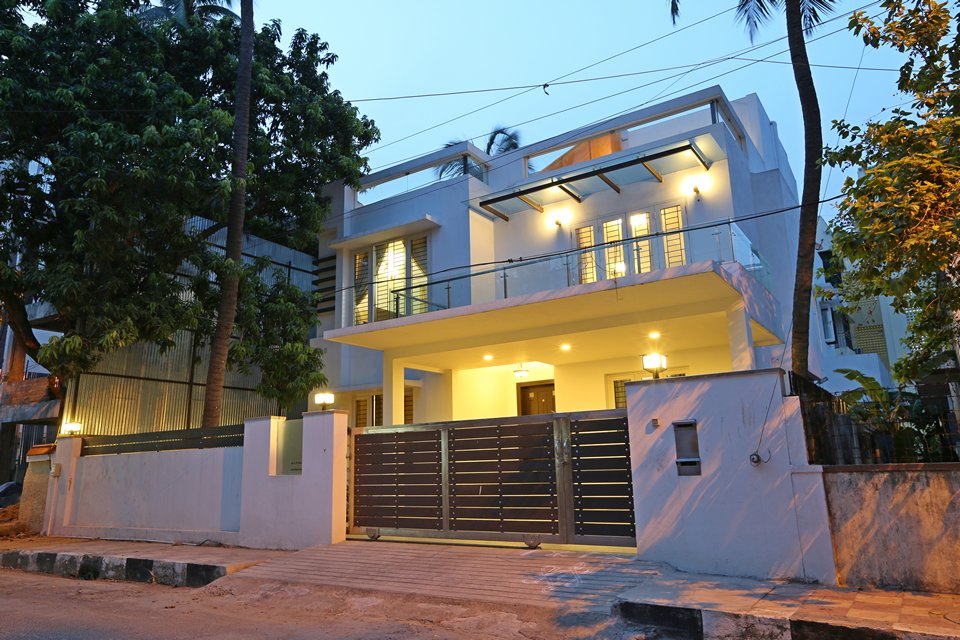 Minimal melange house ansari architects chennai House architecture chennai
