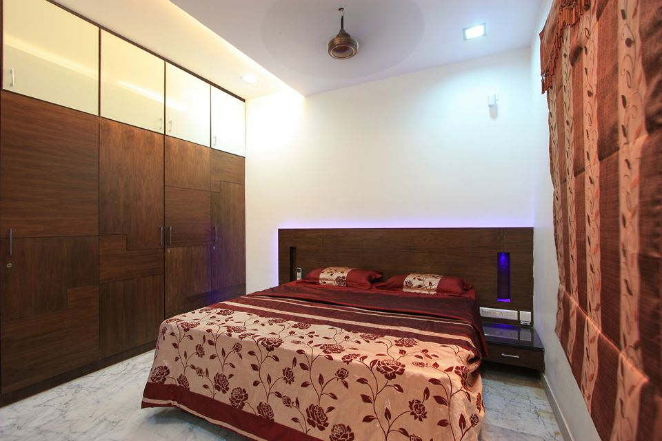 The corner house palawakkam chennai is an unique house for Interior decoration in chennai