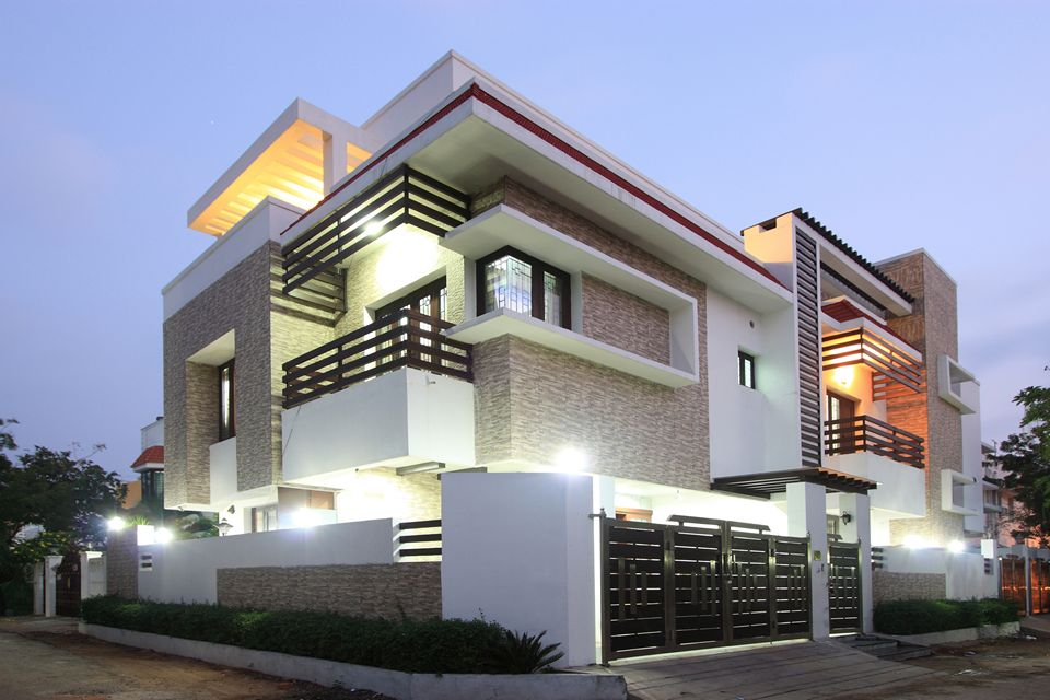 The Corner House Palawakkam Chennai Is An Unique House