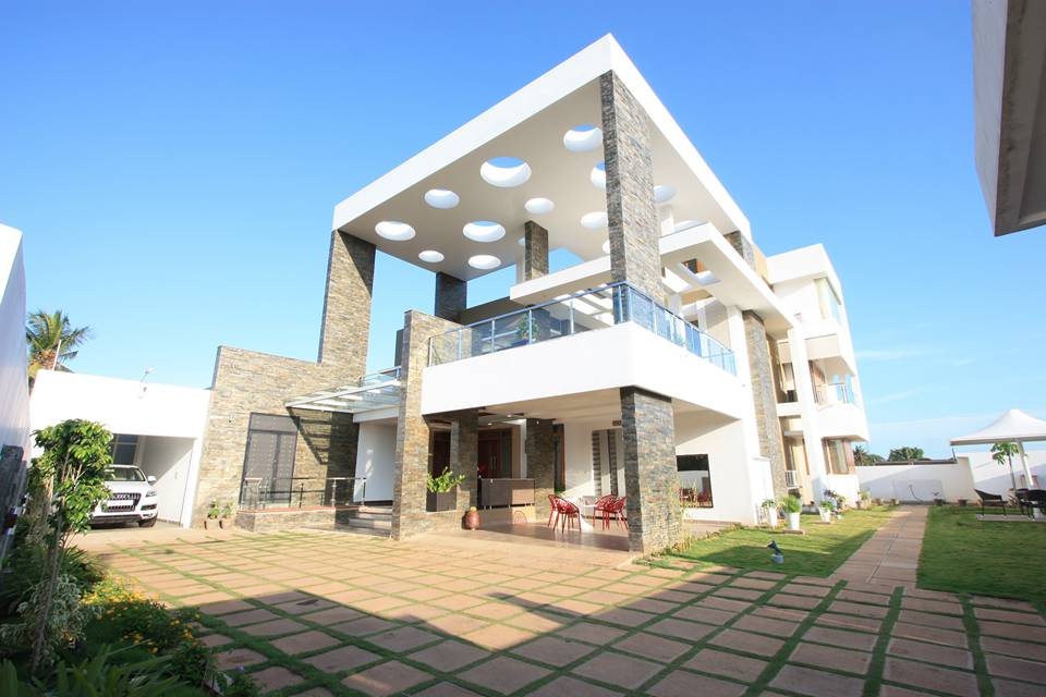 Sikali residence designed by ansari architects chennai House architecture chennai