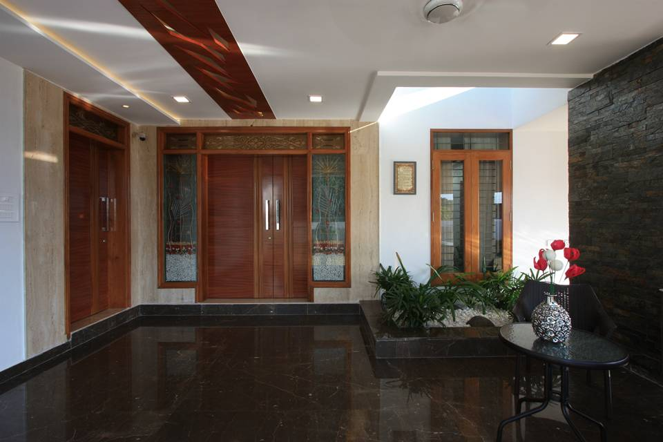 Sikali residence designed by ansari architects chennai for Architecture design for home in tamilnadu