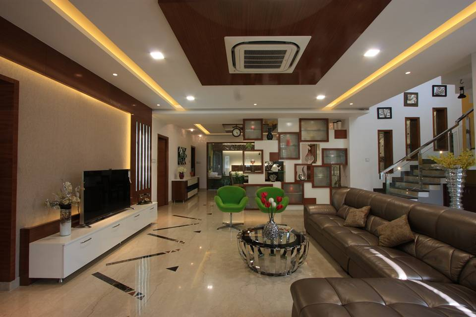 Sikali residence designed by ansari architects chennai for Interior design for living room chennai