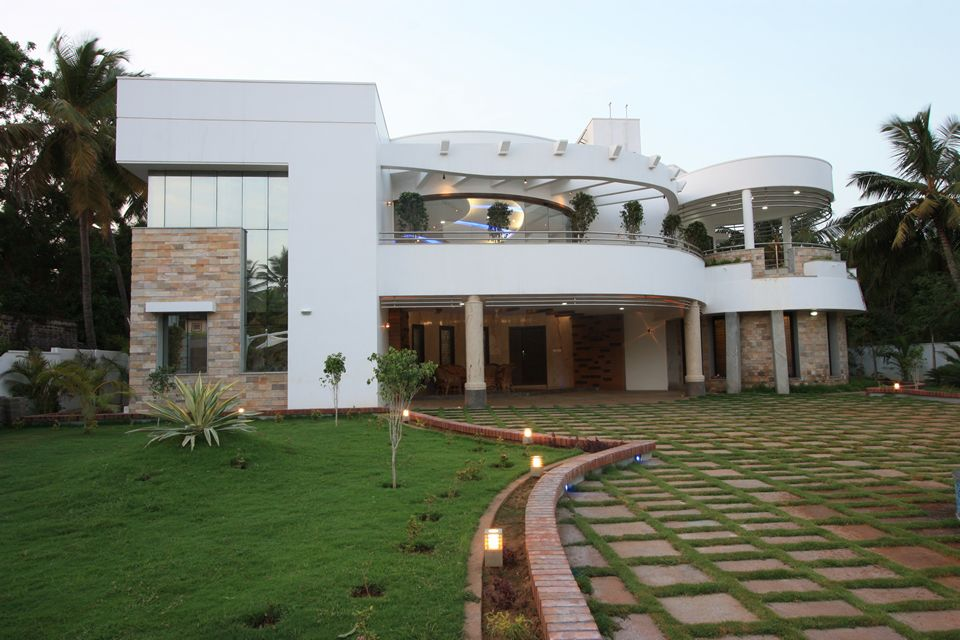 The house of curves thopputhurai tamilnadu designed by House architecture chennai